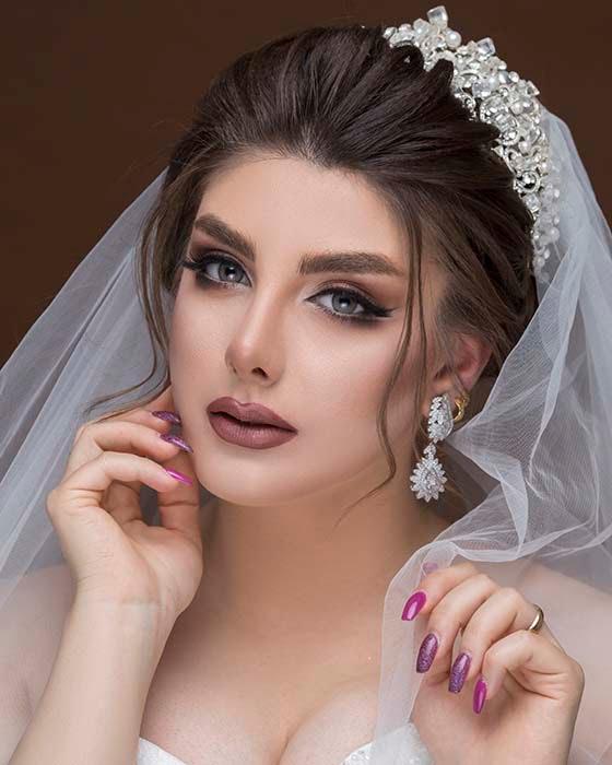 گریم تخصصی عروس اهواز